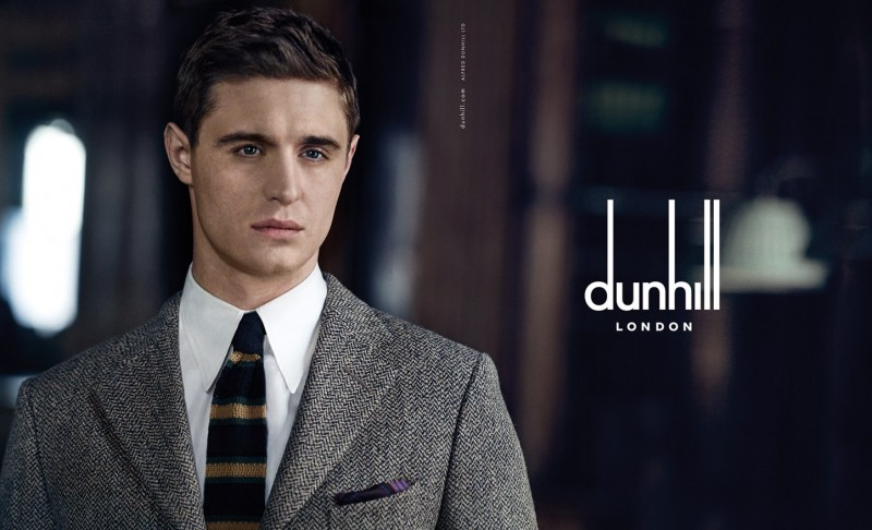 Max Irons for Dunhill Fall/Winter 2015 Campaign