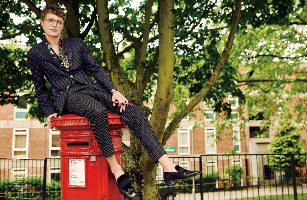 Max Rendell Has a London Calling for Elle Men Hong Kong