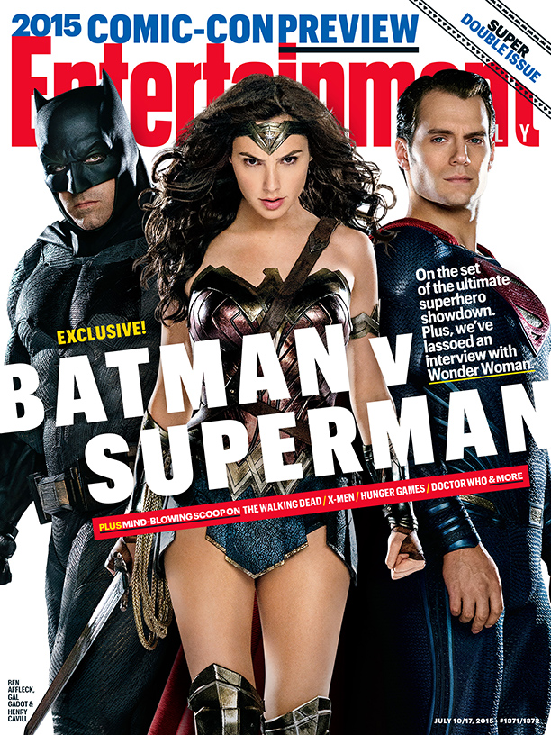 'Batman v Superman' Lands Entertainment Weekly Cover