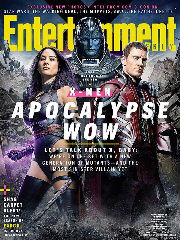 'X-Men: Apocalypse' Stars Cover Entertainment Weekly