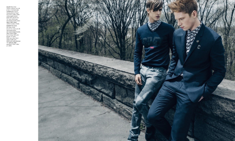 Essential Homme Features Dior Homme Fall 2015 Collection in Fashion Editorial