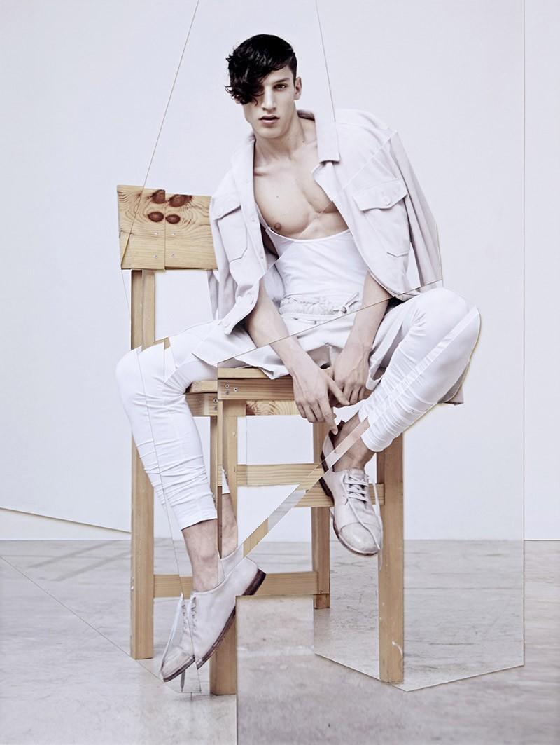 Lucas Mikulski, Al Pierce + More Models Channel Dancers for FHM Collections China