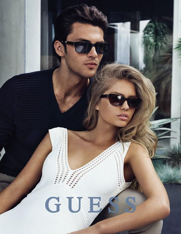 Silviu Tolu is Cool in Shades for GUESS Fall/Winter 2015 Eyewear Campaign
