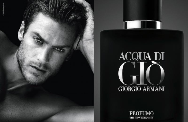 Model Jason Morgan for Giorgio Armani Acqua di Gio Profuma fragrance campaign