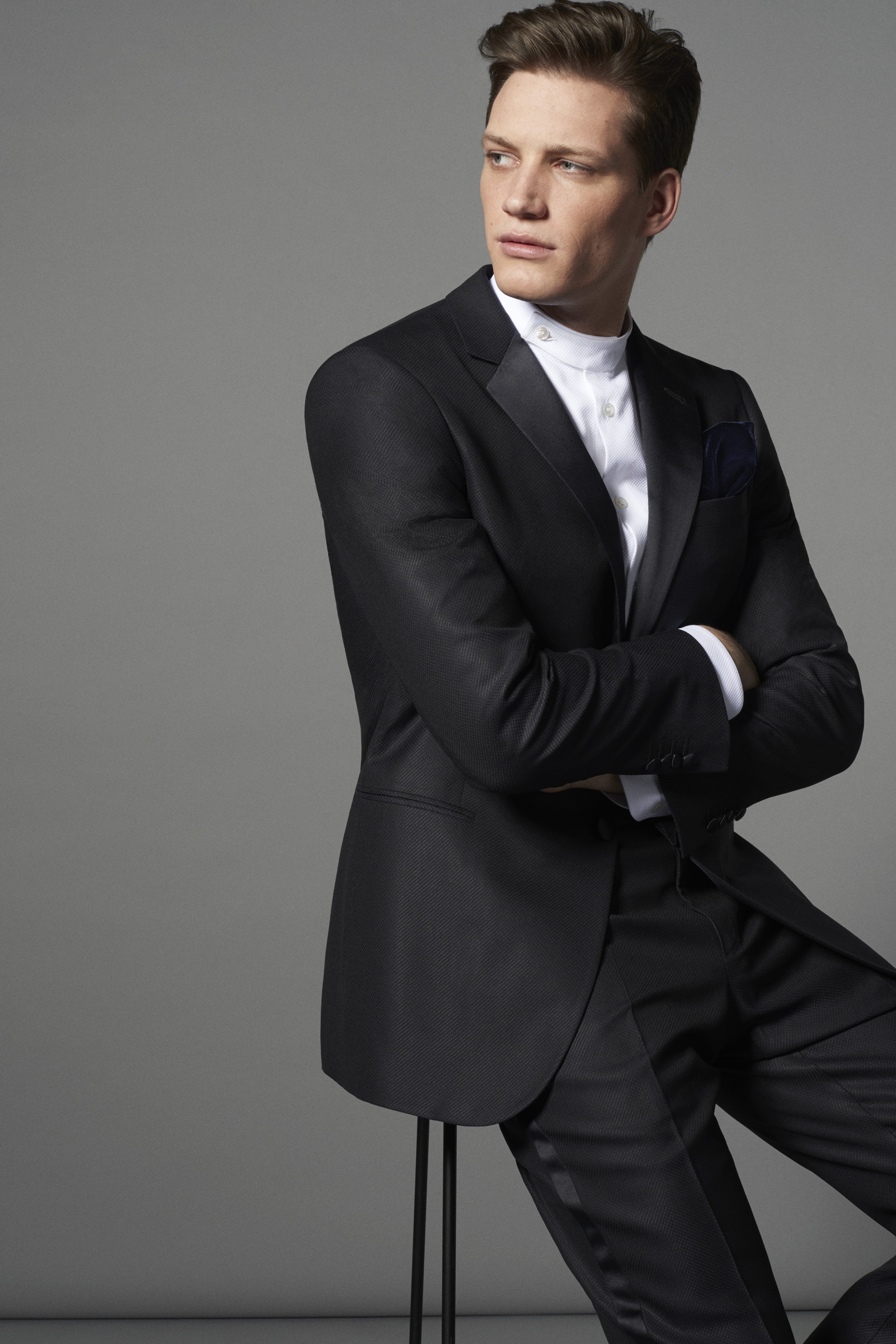 Giorgio Armani Does Formal Style with Evening Capsule Collection
