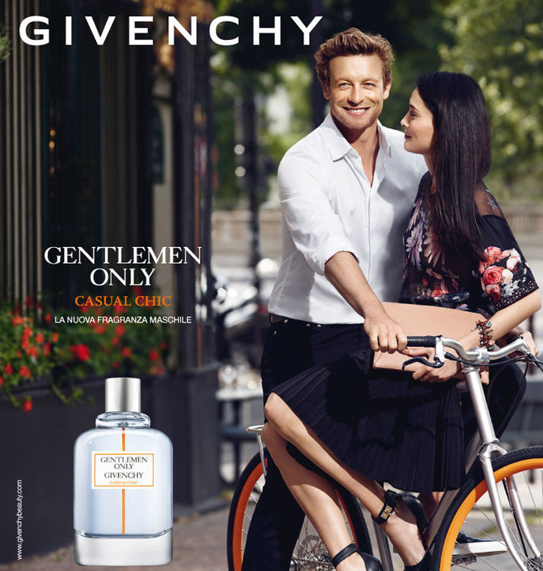 Simon Baker Fronts Givenchy Gentlemen Only Casual Chic Fragrance Campaign