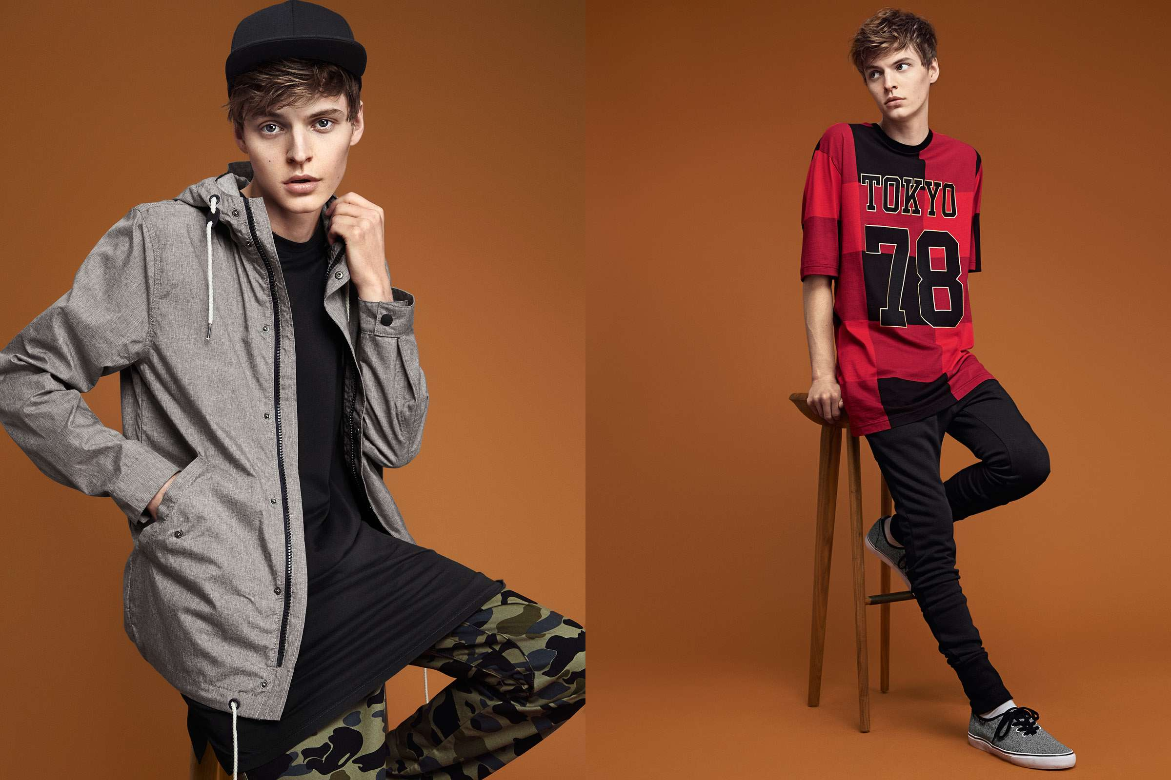H&M Divided: John Hein Embraces Trendy Long Proportions