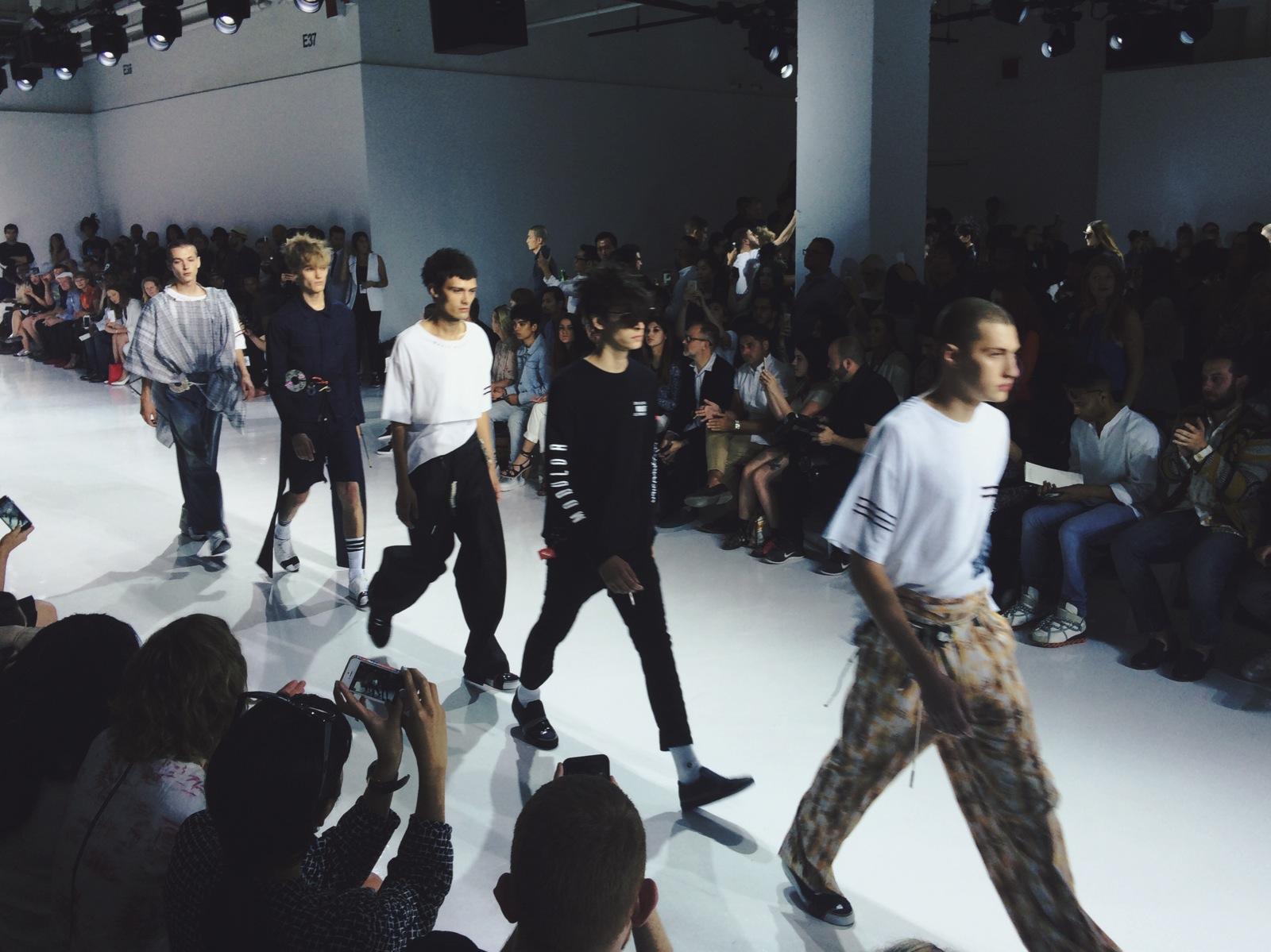 New York Fashion Week: Men Spring/Summer 2016
