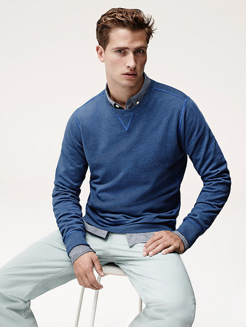 Tom Warren Sports Summer Essentials for Jaeger Campaign
