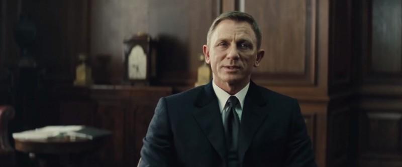 A still of James Bond (Daniel Craig) in Spectre