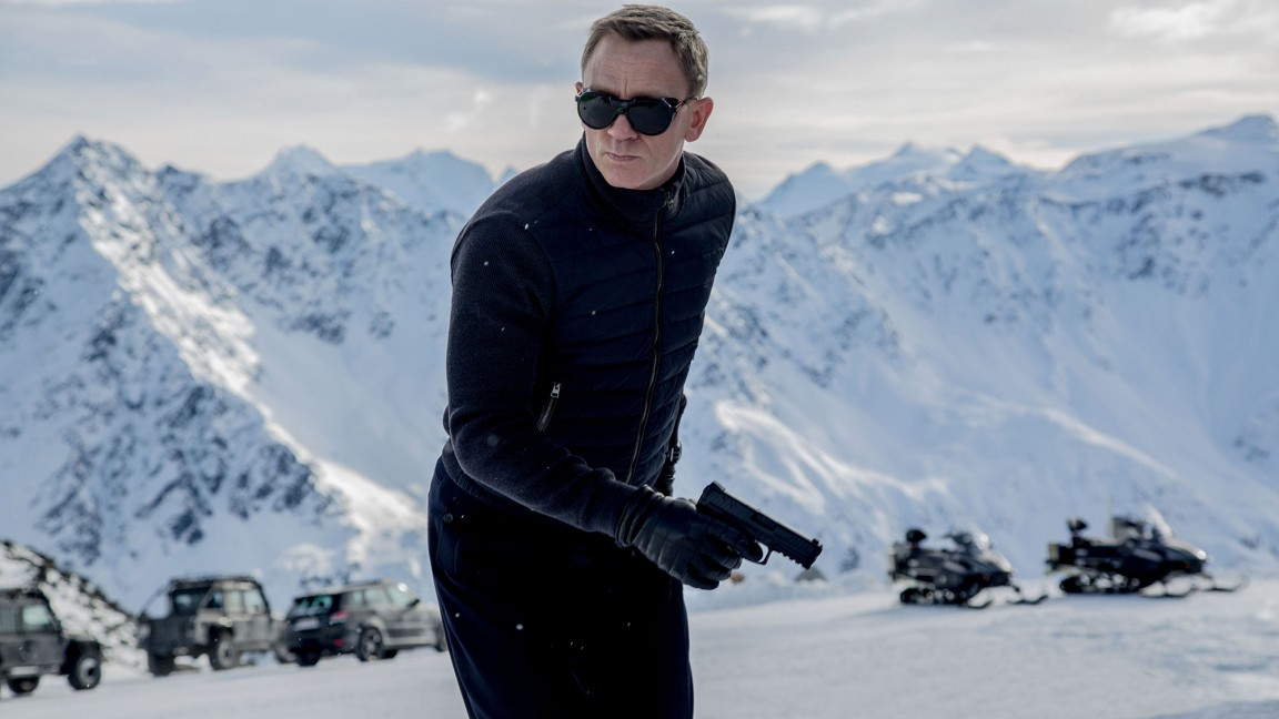 James Bond Wears Vuarnet Glacier Sunglasses in 'Spectre' Movie