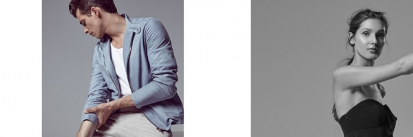 Jamie Wise is a Modern James Dean in Reiss Summer Styles
