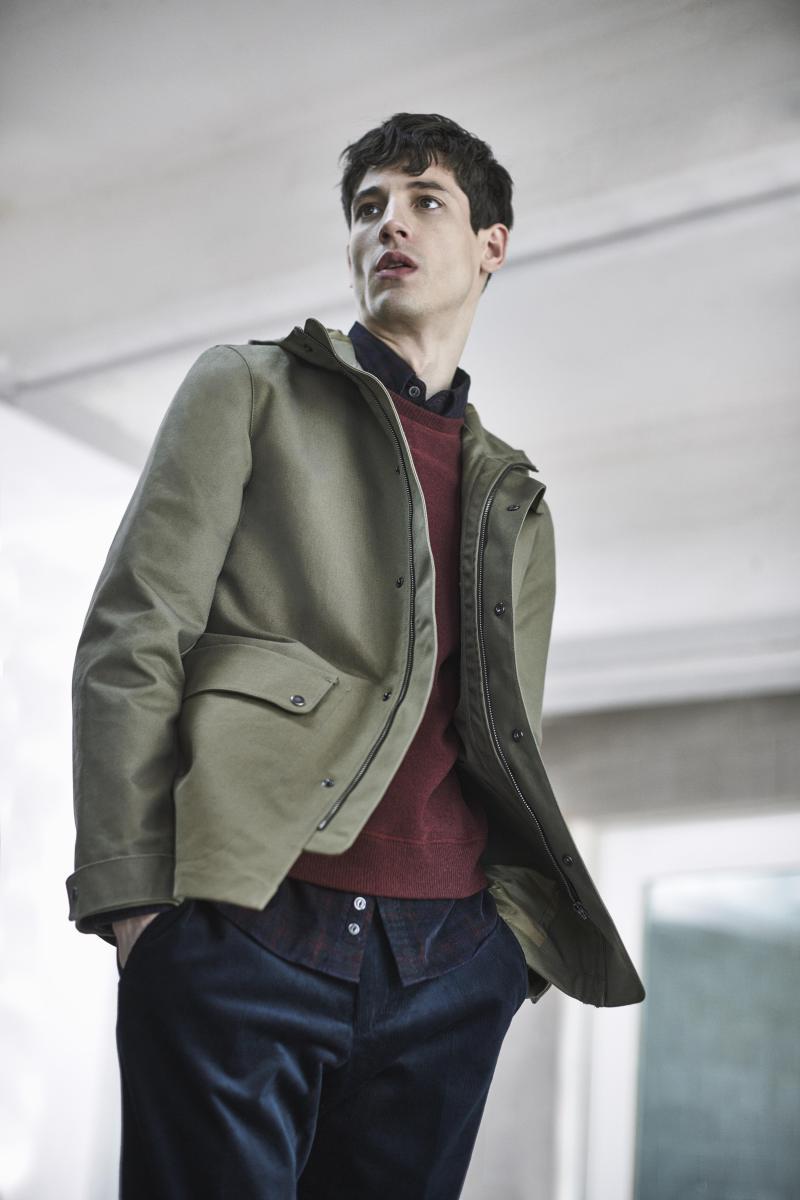 Leather jacket jigsaw - Model