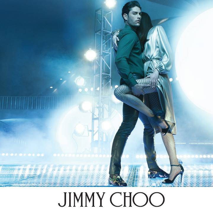 Tyson Ballou photographed by Steven Klein for Jimmy Choo fall-winter 2015 advertising campaign