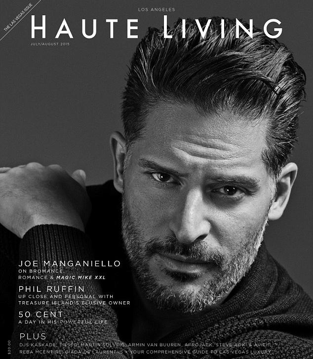 Joe Manganiello Covers Haute Living, Would Do Another 'Magic Mike' Movie