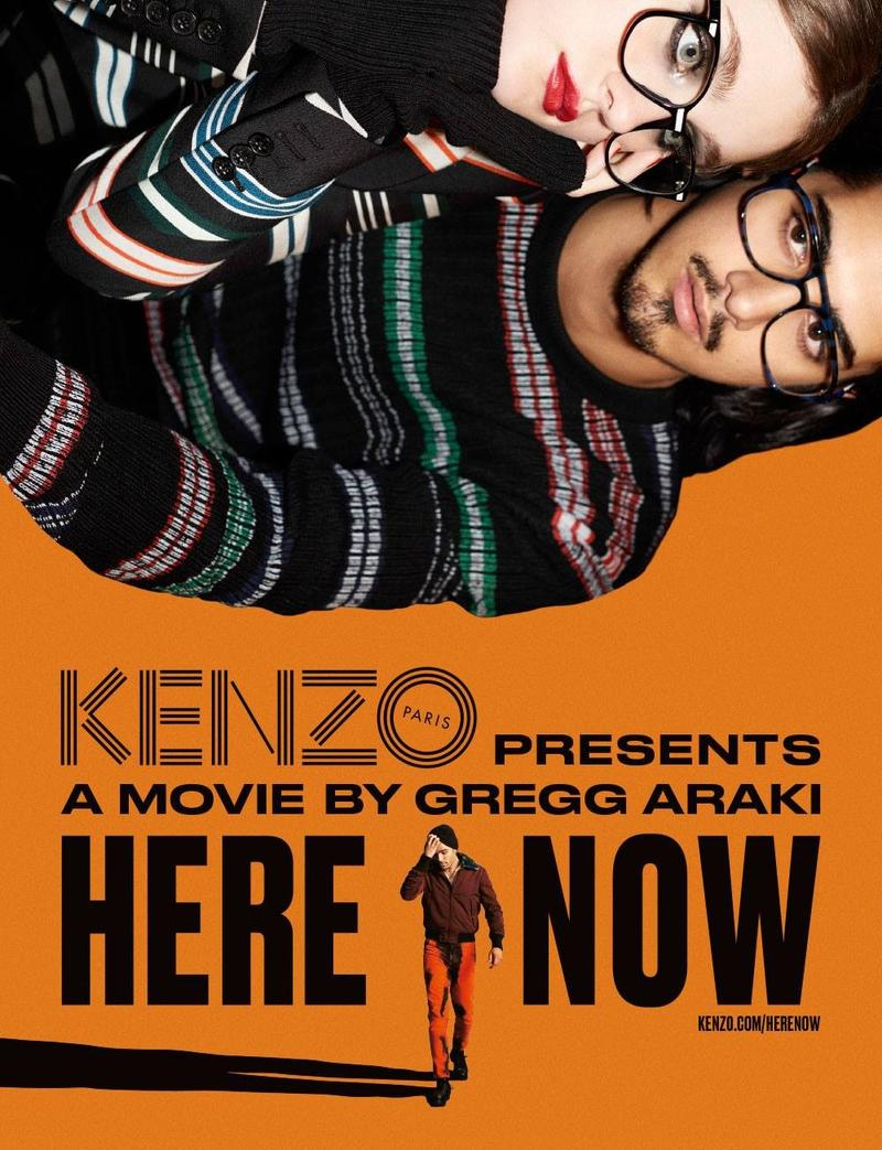 Avan Jogia Stars in Kenzo Fall/Winter 2015 Campaign