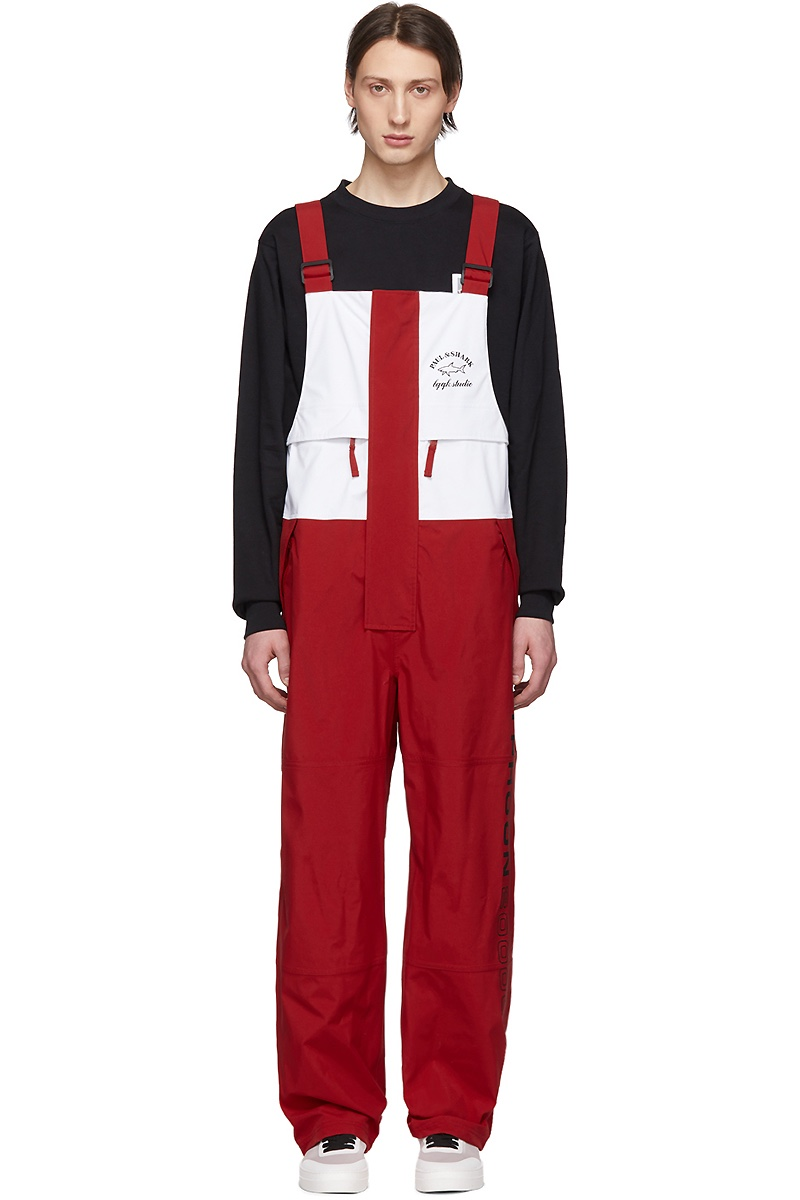 LQQK Studio for Paul & Shark Red Typhoon 20000 Overalls $595