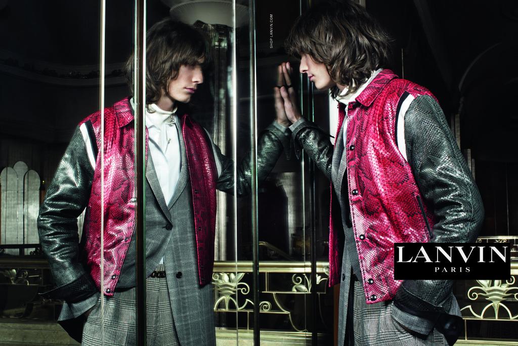 First Look: Lanvin Fall/Winter 2015 Menswear Campaign