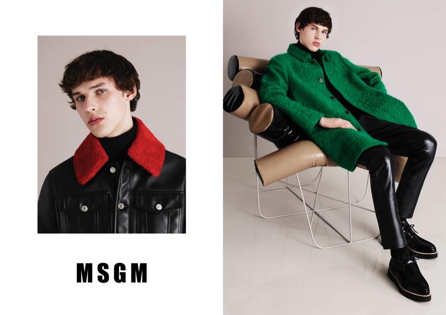 MSGM Fall/Winter 2015 Menswear Campaign Ups the Color Ante