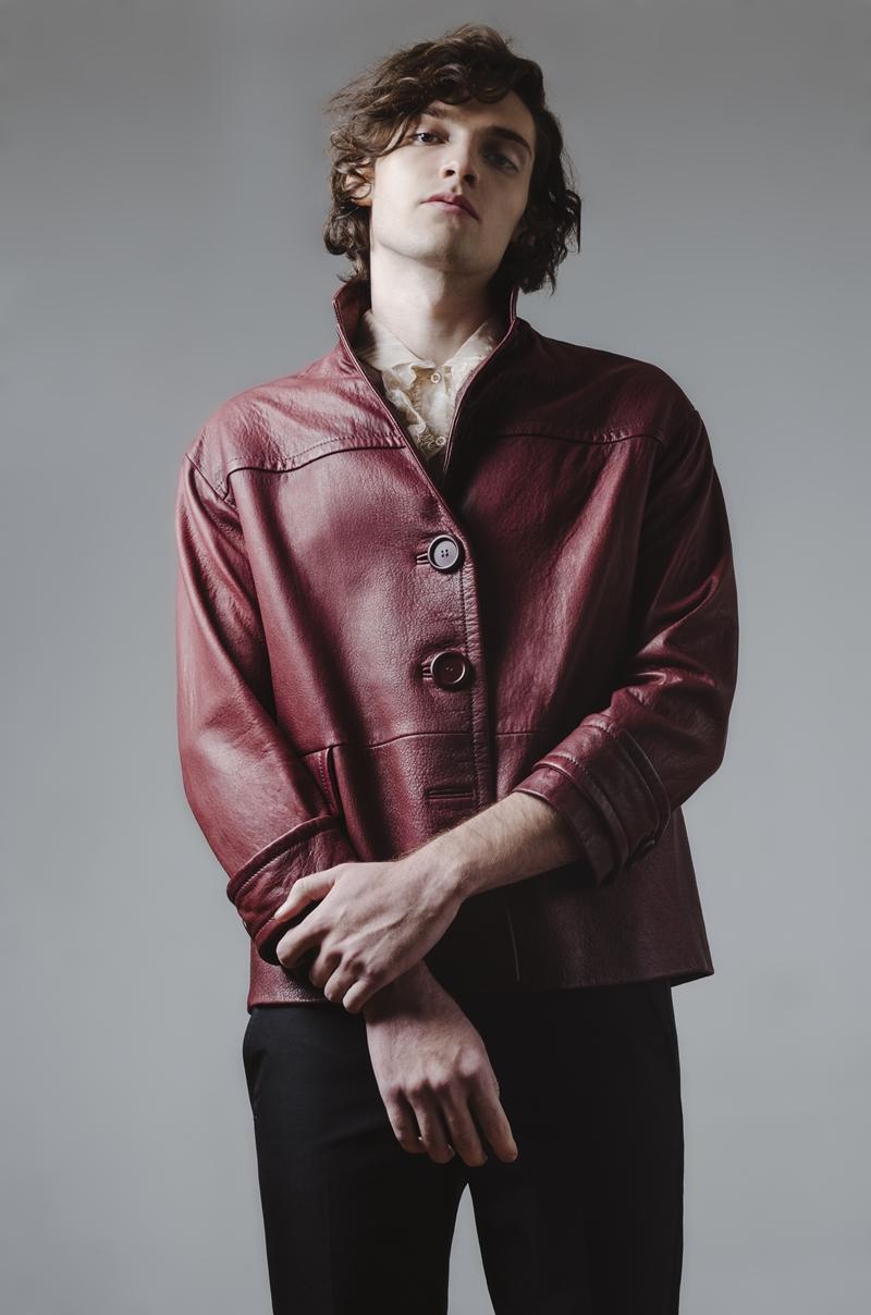 Matheus Ferreira Goes Dandy for Ferry Fashion Editorial