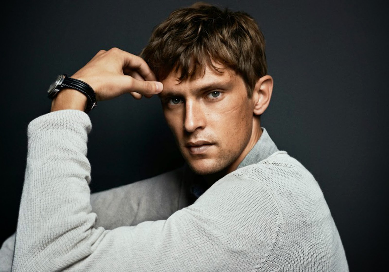 Mathias Lauridsen Models Easy Contemporary Styles for Jack & Jones