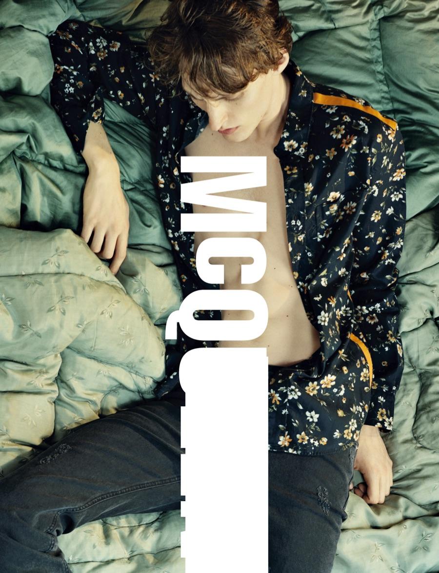 Tobias Lundh Stars in McQ Alexander McQueen Fall/Winter 2015 Menswear Campaign