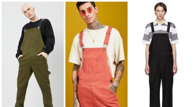 Mens overall shorts trend