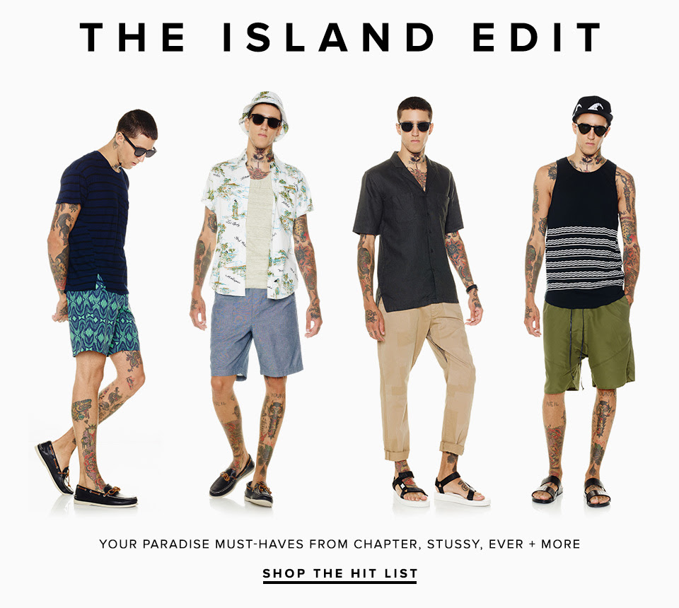 The Island Edit: Miles Langford Rocks Tropical Styles for Revolve