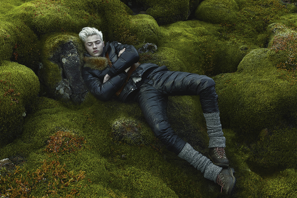 Lucky Blue Smith Fronts Moncler Fall/Winter 2015 Campaign