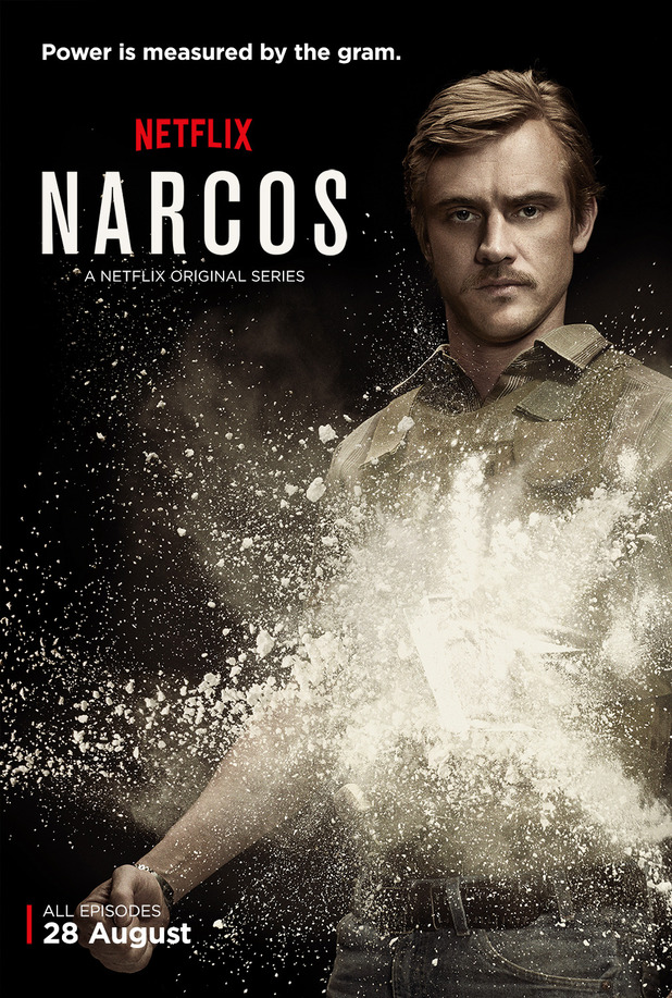 Boyd Holbrook as Steve Murphy in Narcos