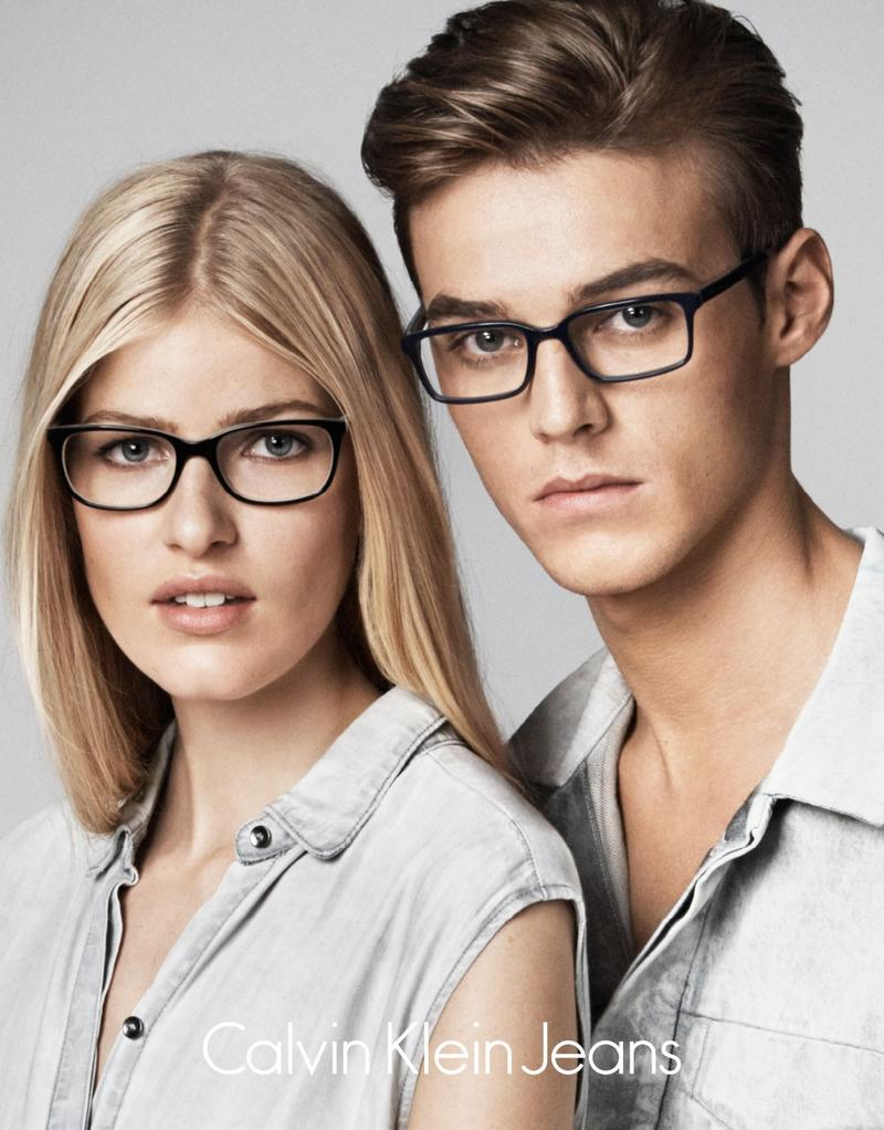 Robbie Wadge is a Fresh Vision for Calvin Klein Eyewear