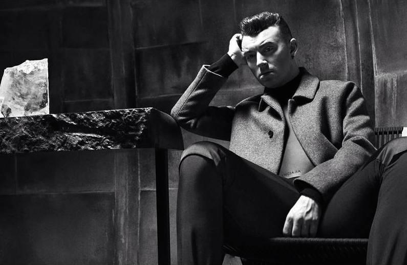 Sam Smith appears in Balenciaga's fall-winter 2015 menswear campaign