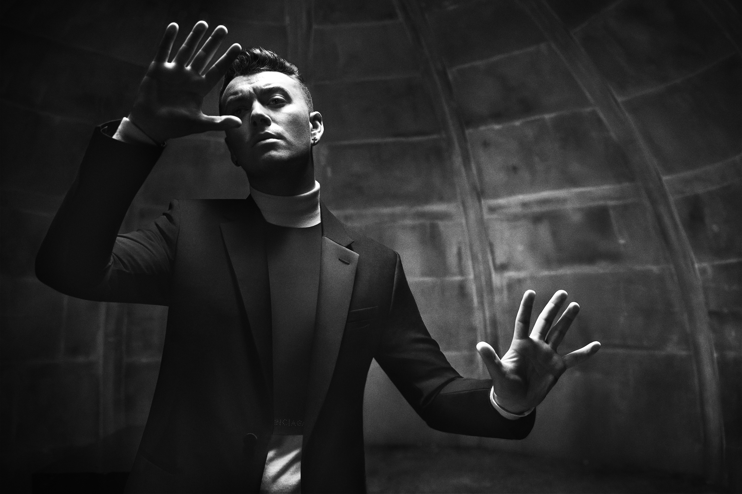 Sam Smith Stars in Balenciaga Fall/Winter 2015 Menswear Campaign