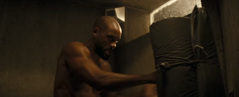 Will Smith as Deadshot in Suicide Squad.
