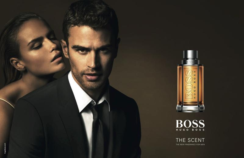 Theo James for BOSS Hugo Boss Fragrance Campaign