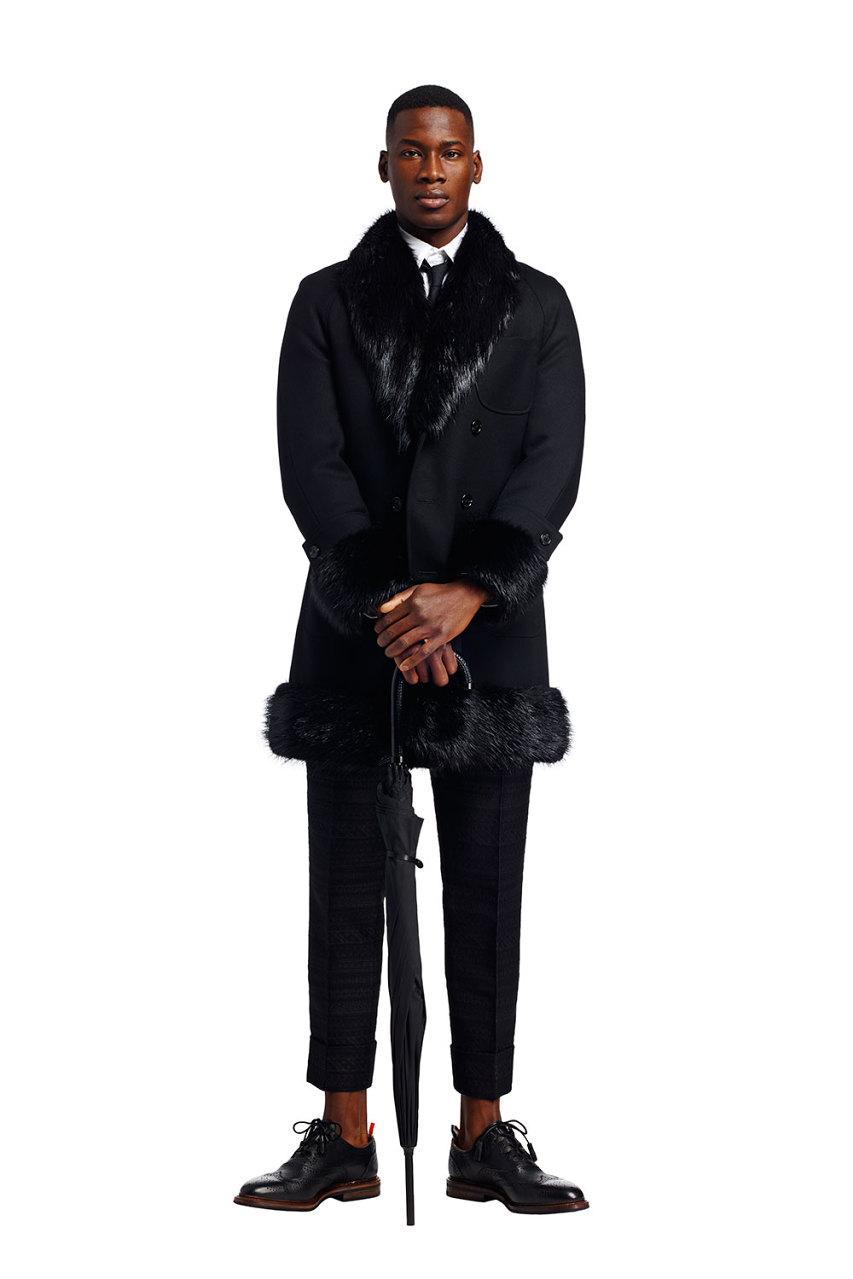 Thom Browne's Fall/Winter 2015 Menswear Collection is Kinda Brilliant