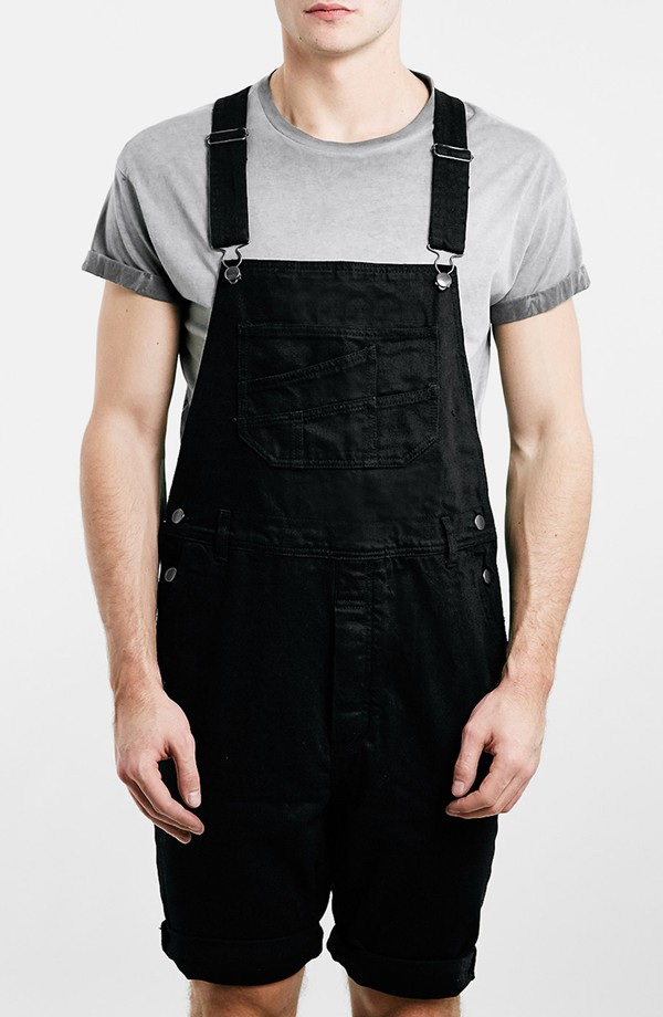 Black Leather Jeans Mens