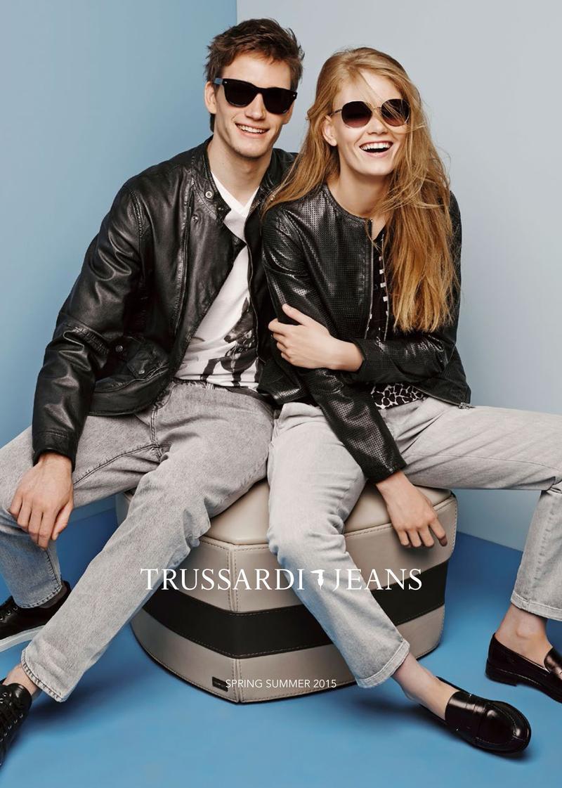 Florian Van Bael for Trussardi Jeans Spring/Summer 2015 Advertising Campaign