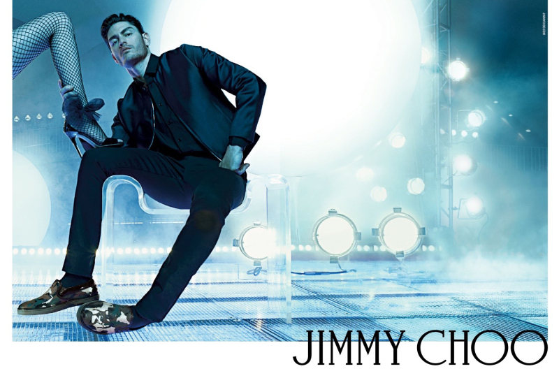 Tyson Ballou for Jimmy Choo Fall/Winter 2015 Campaign