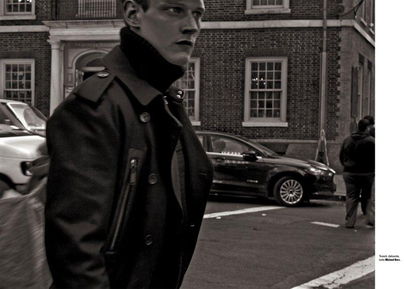Adam Butcher Brings Fashion to Wall Street