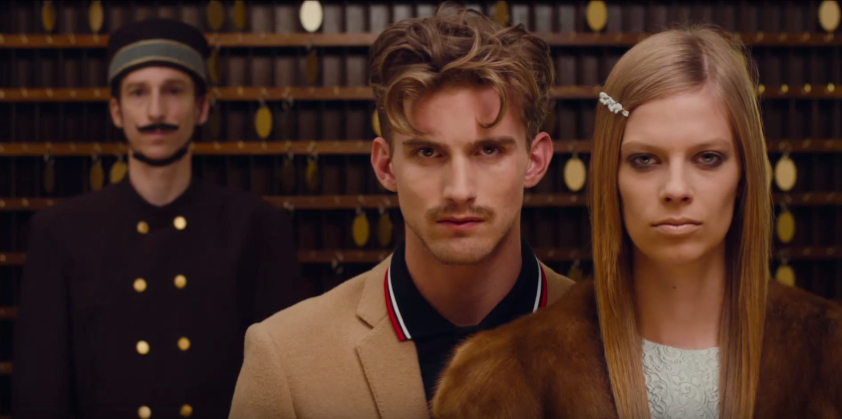RJ King Channels Wes Anderson Quirk for Americana Manhasset Fall 2015