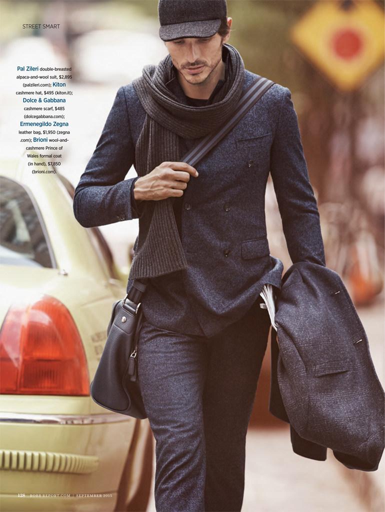 Andres Velencoso Segura Models Street Smart Tailoring Looks for Robb Report