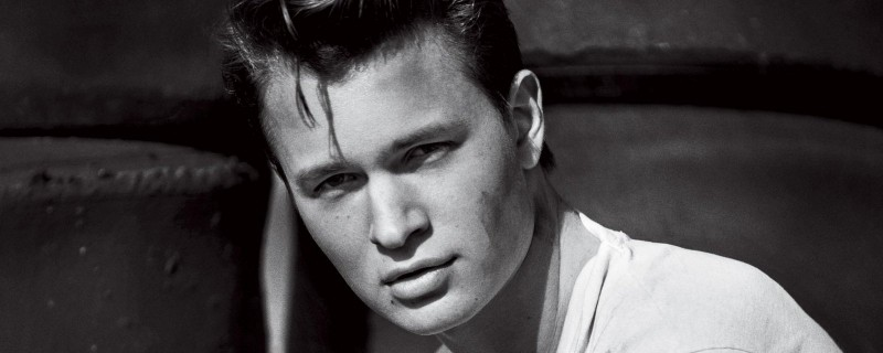 Ansel Elgort channels Hollywood icon Marlon Brando in this Boo George shot.