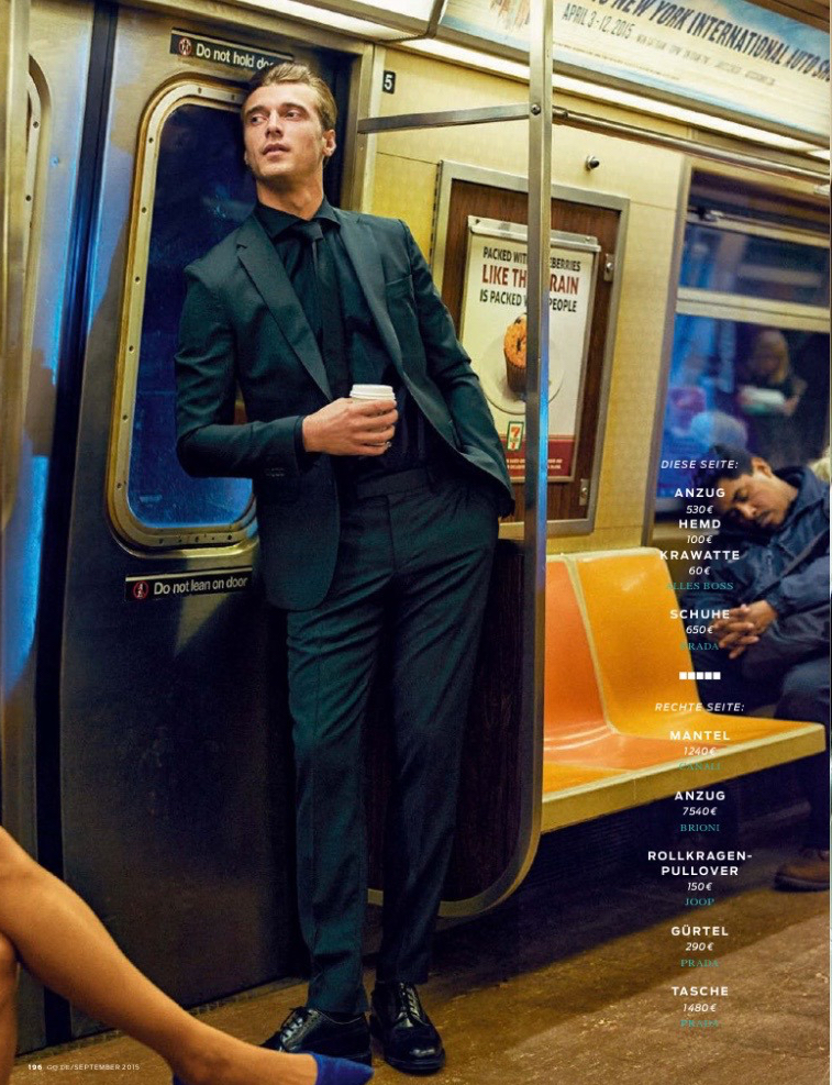 Clement Chabernaud GQ Germany September 2015 Fashion Editorial 004