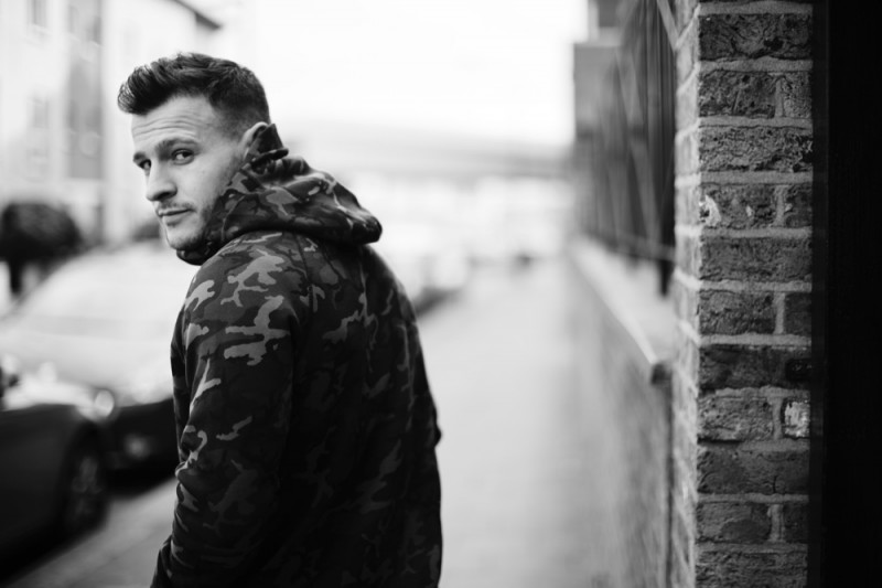 Rugby player Danny Care wears Nike Tech Fleece Collection.
