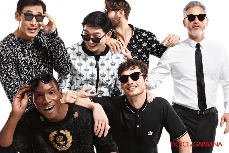 Dolce & Gabbana Fall/Winter 2015 Eyewear Campaign
