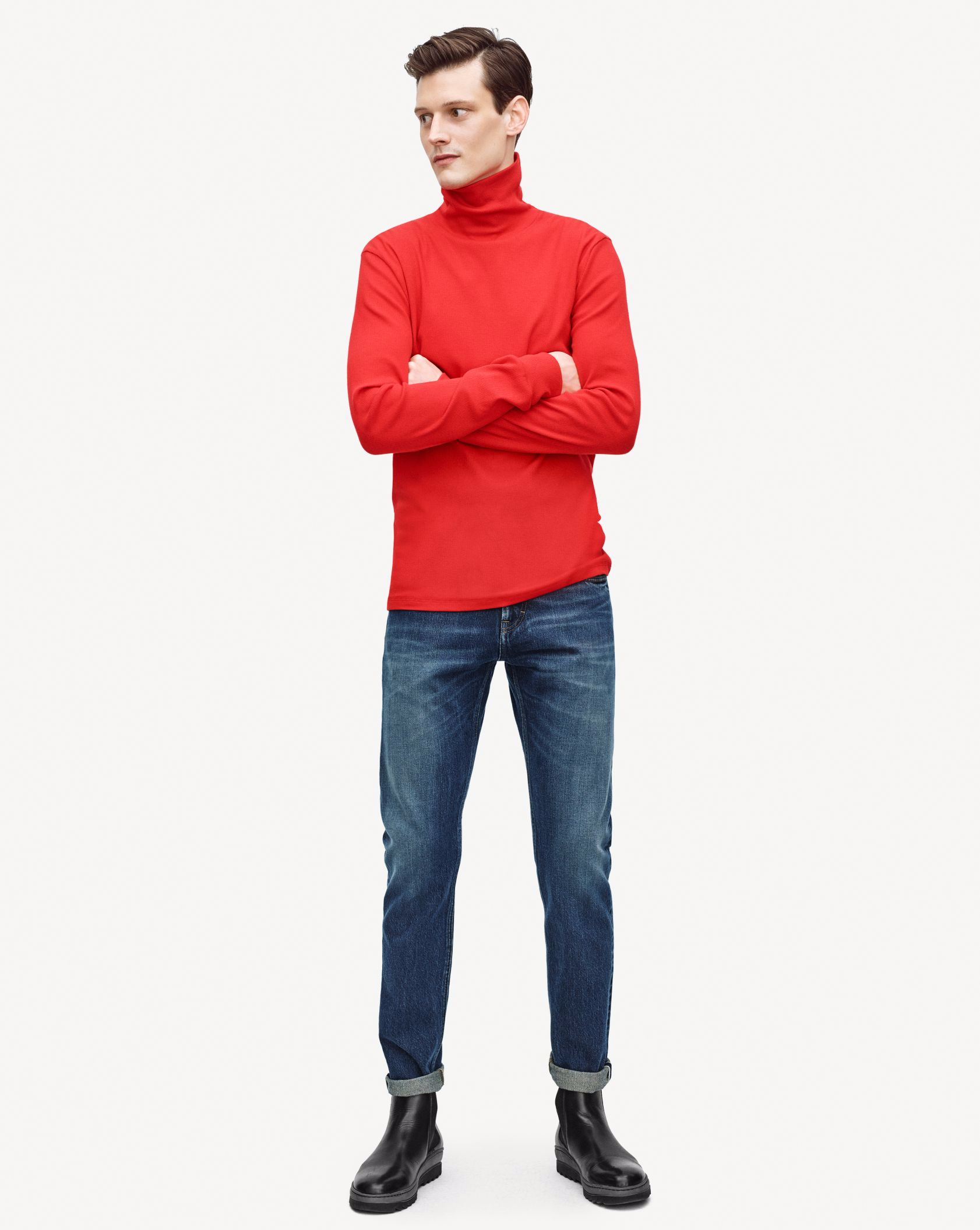 Filippa K Suggests a Simple Red Style Statement