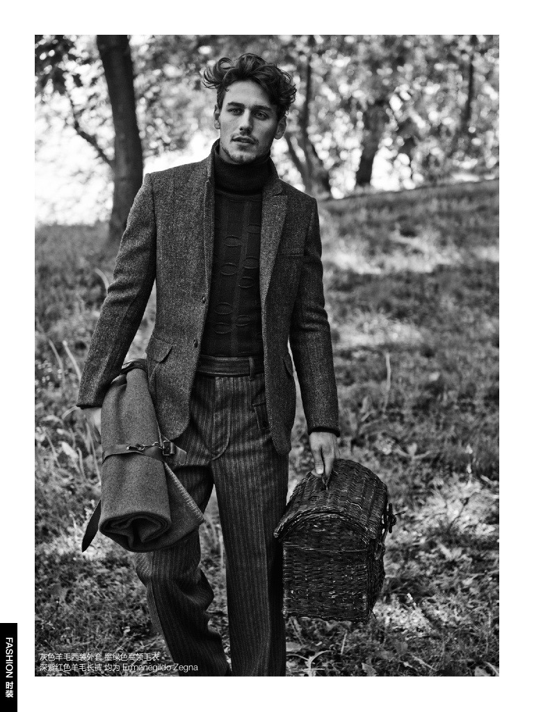 GQ China Embraces Country Chic Suiting Looks