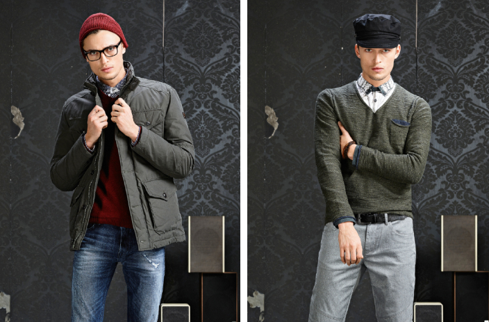 Harvey Haydon Models BOSS Orange Fall 2015 Men's Styles