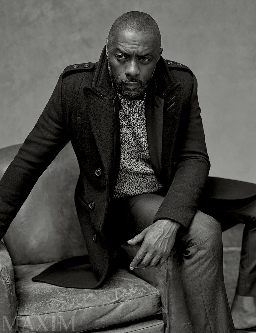 Idris Elba Covers September 2015 Maxim